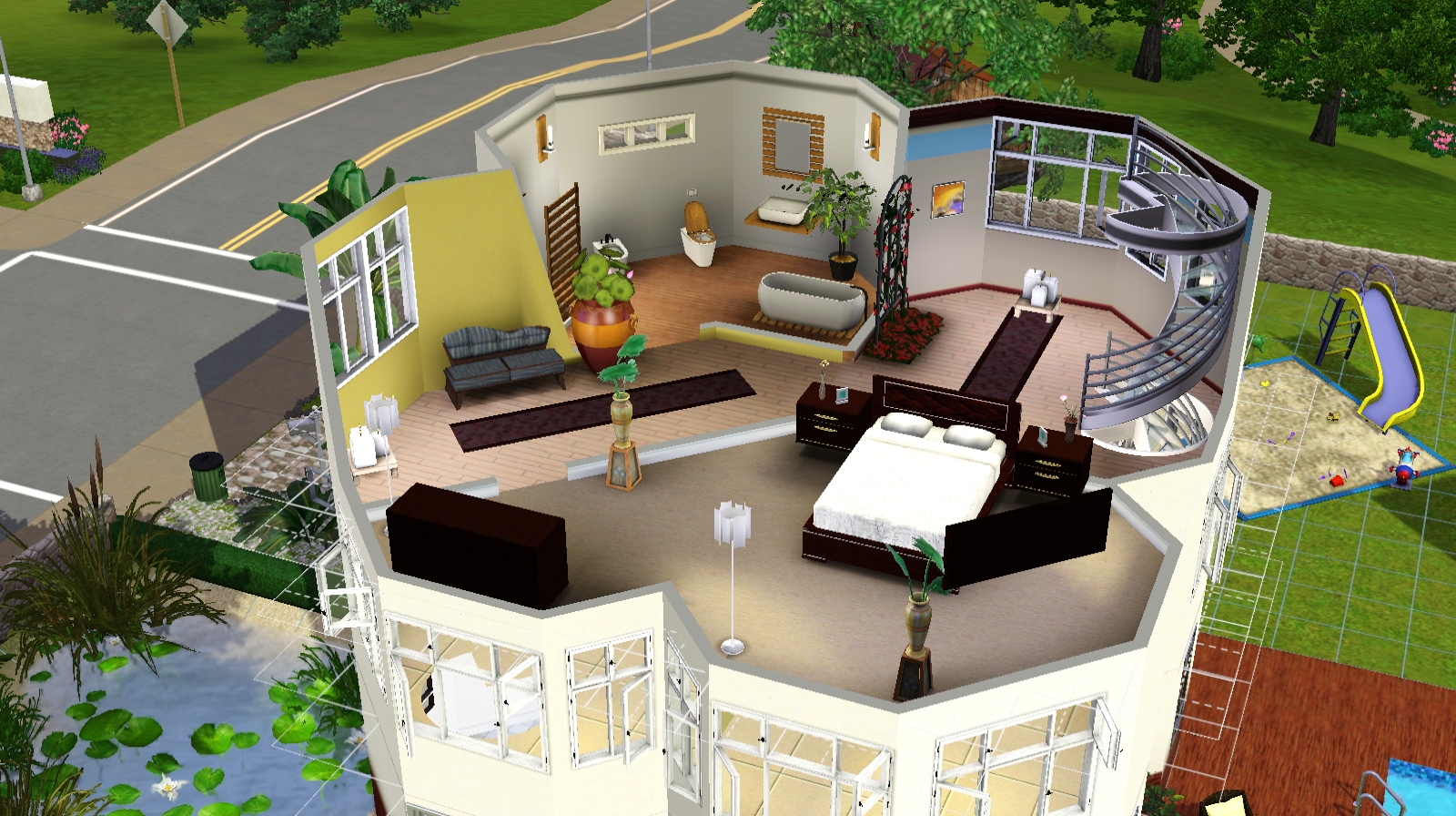 contest wohnen im turm das gro e sims 3 forum von und f r fans. Black Bedroom Furniture Sets. Home Design Ideas